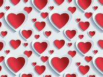 An abstract background of love, vector. stock illustration