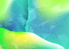 Abstract mesh background. Abstract background with low poly mesh design Stock Illustration