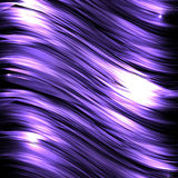 Abstract background with luminous wavy lines. On a dark background. Vector background for your creativity Stock Image