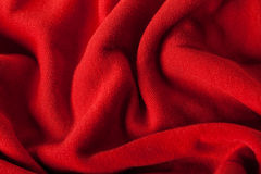 Abstract background of luxurious red fabric Stock Photo