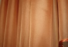 Luxurious fabric or liquid wave or wavy folds of silk texture stock photo