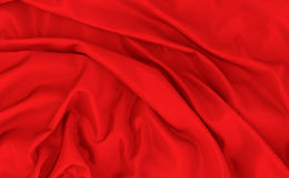 Abstract background luxury cloth and wavy folds of silk texture Stock Photo