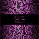 Abstract background with luxury vintage frame Stock Photos