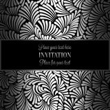 Abstract background with luxury vintage frame Stock Image
