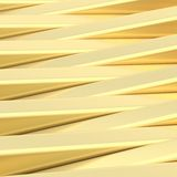Abstract background made of blocks. Abstract background composition made of golden plank-shaped glossy blocks Royalty Free Stock Photos