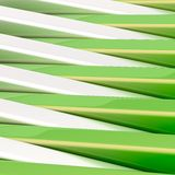 Abstract background made of blocks. Abstract background composition made of plank-shaped green and chrome glossy blocks royalty free illustration
