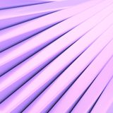 Abstract background made of blocks. Abstract background composition made of plank-shaped light violet glossy blocks arranged like stairs royalty free illustration