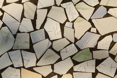 Abstract background. Made from broken pieces of ceramic tiles Royalty Free Stock Photos