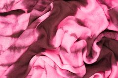 Abstract background made of cloth Stock Photography