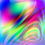 Abstract background made of colorful lines Stock Photos