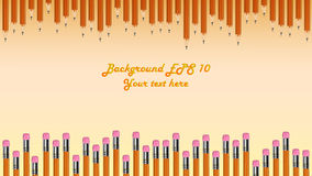 Abstract background. Background made of colorful pencils Royalty Free Stock Photo