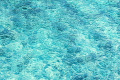 Abstract background made of crystal clear water. Royalty Free Stock Photography