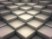 Abstract background. Made of 3d blocks Stock Photo