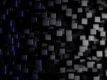 Abstract background made of 3d shape. Rendering Stock Photo