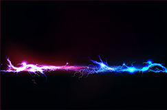 Abstract background made of Electric lighting effect Stock Photos