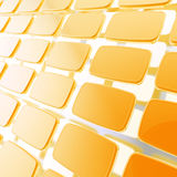 Abstract background made of glossy plates Stock Photography