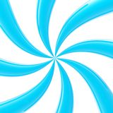 Abstract background made of glossy twirls Royalty Free Stock Photography