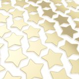 Abstract background made of golden stars Stock Photos
