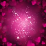 Abstract background. Made of hearts symbols Royalty Free Stock Photos
