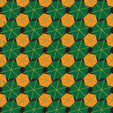 Abstract background made from hexagons.  royalty free illustration