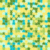 Puzzle pattern Stock Photo