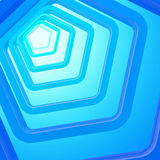 Abstract background made of pentagons Stock Photography