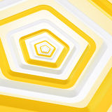 Abstract background made of pentagons Royalty Free Stock Images