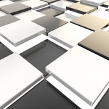 Abstract background made of plates Royalty Free Stock Image