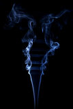 Abstract background made with real smoke Royalty Free Stock Photo