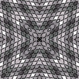 Abstract background made of rhombuses in shades of gray. Seamless Illustration Royalty Free Stock Photography