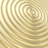 Abstract background made of rings. Abstract background made of glossy shiny golden hoop torus rings royalty free illustration