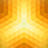 Abstract background made of shiny mosaic pattern. Retro sunlight design Royalty Free Stock Photo