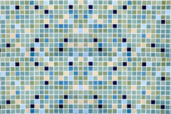 Abstract background made from square tile Stock Photography