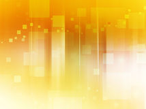 Abstract background made of squares. Abstract bright background in yellow, orange and brown tones made of scattered squares Stock Photo