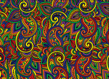 Abstract background is made up of multi-colored patterns. Royalty Free Stock Photography