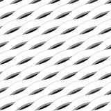 Abstract background made wavy tape and lines. Seamless geometric pattern. Abstract background made wavy tape and lines Royalty Free Stock Images