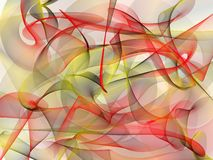 Abstract background made on white base Royalty Free Stock Photo