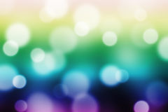 Abstract  background with magic bokeh Stock Photography