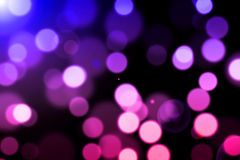 Abstract  background with magic bokeh Royalty Free Stock Images