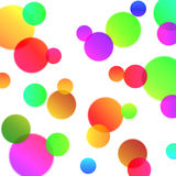 Abstract background with magic bubbles Stock Photos