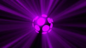 Abstract background with magic disco sphere Stock Images