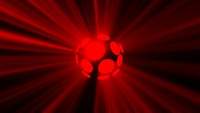Abstract background with magic disco sphere Royalty Free Stock Photo