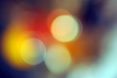 Abstract background, magic lights, bokeh. Royalty Free Stock Photo