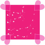 Abstract background. Magic pink color heart abstract background Stock Images