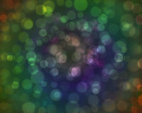 Abstract  background magic sparkle. Light dots,  bokeh Stock Images