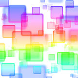 Abstract background with magic squares. Abstract background with magic colorful squares vector illustration