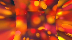 Abstract background with magnifier bokeh Stock Photo