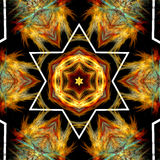 Abstract background mandala pattern Royalty Free Stock Images