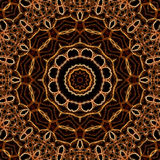 Abstract background mandala pattern Stock Photos