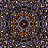 Abstract background mandala pattern Royalty Free Stock Photo